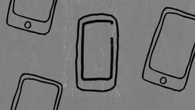 Odrębny telefon komórkowy ilustracja wektor