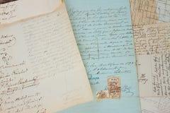 odręczny list Obrazy Royalty Free