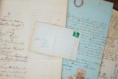 odręczny list Zdjęcia Royalty Free