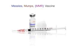 Odra, Mumps, szczepionka z igłą (MMR) Fotografia Royalty Free