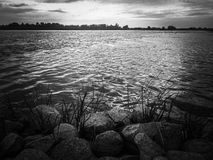 Odra River Royalty Free Stock Images