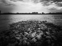 Odra River Stock Photography