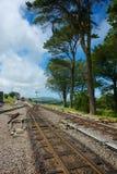 Odrewniała zatoki stacja Północny Devon UK Zdjęcie Stock
