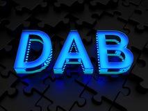 ODROBINA (Cyfrowego Audio transmitowanie) Zdjęcie Stock