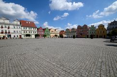 Odrzanski Bytom in Poland. Main square Stock Photo