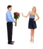 Odrzucający na valentine dniu Zdjęcia Stock