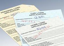 Odrzuceni pożyczkowi zastosowania royalty ilustracja