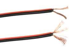 Odsłonięci kable i druty Zdjęcie Stock