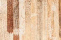 Odsłonięta drewniana ścienna powierzchowność, patchwork tworzy pięknego parkietowego drewno wzór surowy drewno Zdjęcie Stock