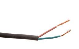Odsłonięty Elektryczny drut II obraz stock