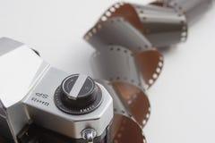 odsłonięty film fotografia stock