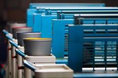 Odsadzka drukowy Kolor fotografia stock