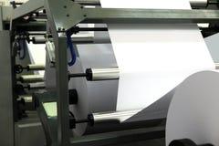 odsadzka duży maszynowy druk Fotografia Stock