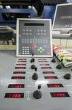 Odsadzki roto drukowa maszyna obrazy stock
