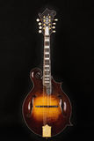 odseparowana mandolina czerni Obrazy Royalty Free