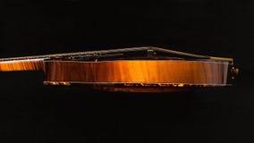 odseparowana mandolina czerni Obraz Stock