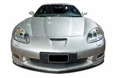 odseparowana samochodów luksusowe ścieżka przewidziane sporty. Obraz Royalty Free