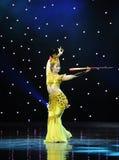 Odskoku Pipa wykonawcy Lotte Zdjęcia Royalty Free