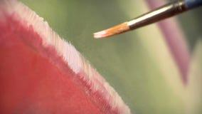 odszukany uderzenie abstrakcjonistyczna szczotkarska malująca istna tekstura był zdjęcie wideo