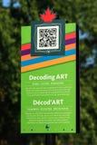 Odszyfrowania Sztuki Znak Obrazy Stock
