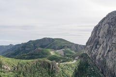 Odtarowywająca droga Roque De Agando Fotografia Royalty Free