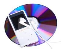 odtwarzacz mp3 talerzowy odtwarzacz mp3 Obraz Royalty Free