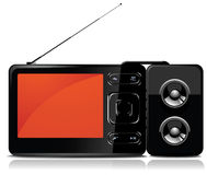 odtwarzacz mp3 tv Zdjęcie Stock