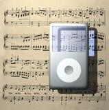 Odtwarzacz muzyczny Zdjęcia Royalty Free
