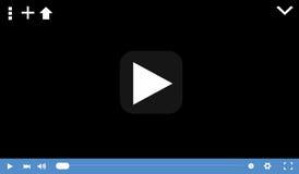 Odtwarzacz wideo Zdjęcie Royalty Free