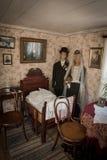 Odtwarzanie historyczny dom w Goteberg Zdjęcia Royalty Free