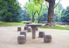 Odtwarzanie park w Asia Zdjęcia Stock