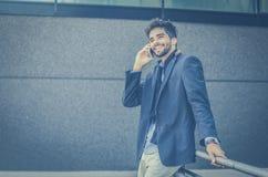 Odważna biznesowa rozmowa fotografia royalty free