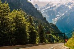 Odwiedzać Chamonix Francja obraz royalty free