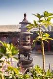 Odwiedzać Chińskiego Buddyjskiego tample zdjęcia royalty free