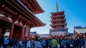 Odwiedzać pagodę w Japonia fotografia royalty free