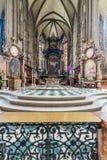 Odwiedzać St Stephen katedrę przy Wiedeń, Austria's kapitał Obraz Stock