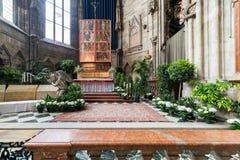 Odwiedzać St Stephen katedrę przy Wiedeń, Austria's kapitał Zdjęcie Stock