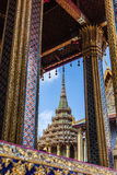 Odwiedzać Wat Phra Kaew Obrazy Stock