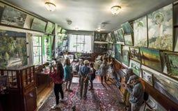 Odwiedzać Claude Monet dom Obrazy Stock