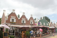 Odwiedza kwiatu rynek turyści w shenzhenï ¼ Œchinaï ¼ ŒAsia Obraz Royalty Free