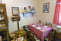 Odwiedzać starego dom rodzina Obraz Royalty Free