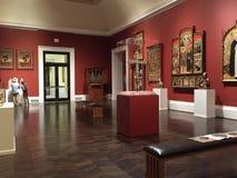 Odwiedzający łąki Muzealny Dallas TX obraz royalty free
