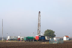 Odwiert naftowy takielunek zdjęcie royalty free