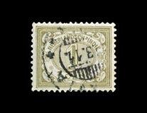 Odwoływający znaczek pocztowy drukujący holandiami obraz stock