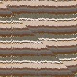 Odwrotnej estokady usterka w osadowej skały okresowym tle Fotografia Stock