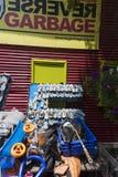 Odwrotny Śmieciarski centre Obrazy Royalty Free