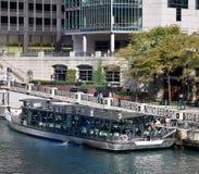 Odyssey Chicago River arkivfoton