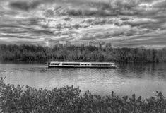 Odyssey Cruise skepp på Potomacet River fotografering för bildbyråer