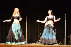 Odyssey Dancers royaltyfria foton