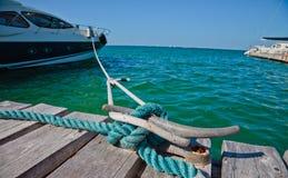 łodzi arkany Zdjęcie Royalty Free
